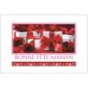 BONNE FETE MAMAN - Carte Voeux Simple par 15