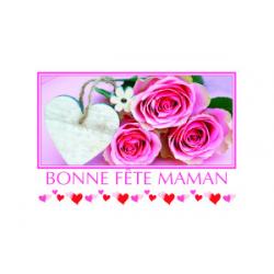 Carte Voeux Simple par 15 Bonne Fete Maman