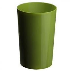 Vase Pro PVC h23 x d15 cm Vert