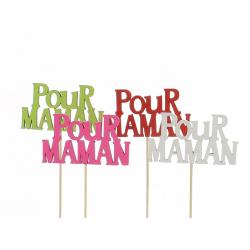 MUM - Pique Pour Maman Assortis D9 x H50 cm par 12