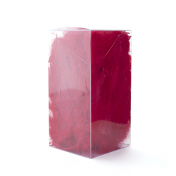 Plumes Marabou Rouge Boite 25 g