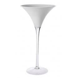 Vase Martini Blanc D25 x H50 cm