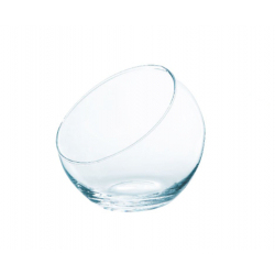 SLICY BOWL - Vase Boule Evasé D19 x H19 cm