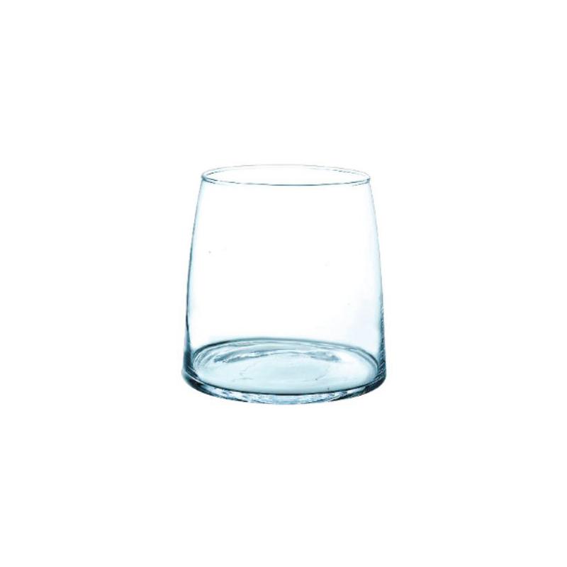 OSLO - Vase Verre Bombé D15.5 x H16 cm
