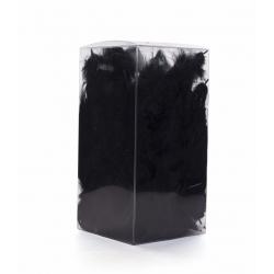 Plumes Marabou Noir sachet 25 g