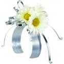 Bracelet Mariée Wrap 2.5x23cm Ivoire par 6