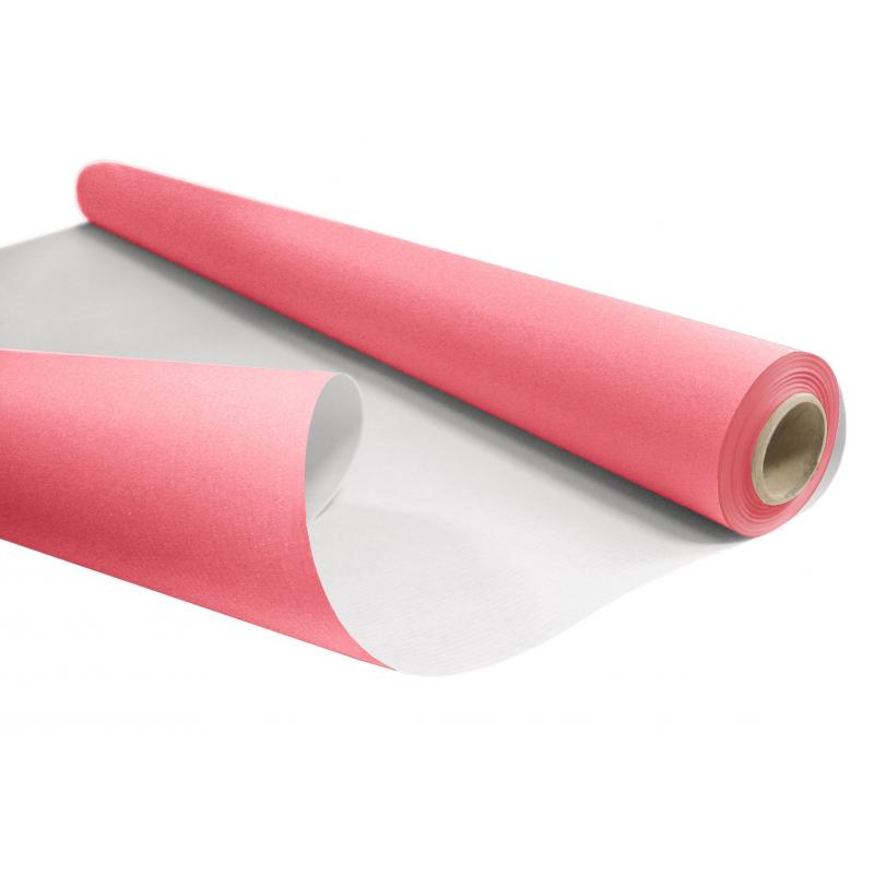 Papier Kraft Rose 80cm x 40 m