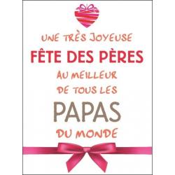 Etiquettes Voeux Tendresse par 500 Bonne Fête Papa