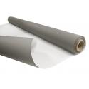 KRAFT BLANCHI - Rouleau Kraft Blanc / Gris 0.80 x 40 m - 60gr / m²