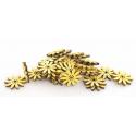 Tournesols Bois d5 cm jaune par 30