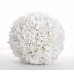 HYDRA - Hortensia Boule Blanc D35cm