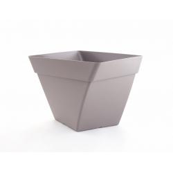 Pot Cocoripot Twist Taupe D20 cm 4L