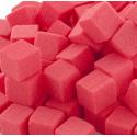 Cube Mousse Rouge baroque