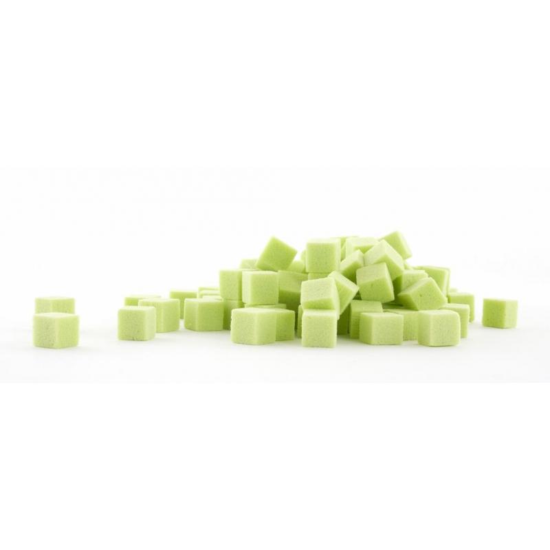 Cube Mousse Vert Anis