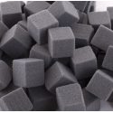 Mini-cubes Mousse 2 cm Anthracite