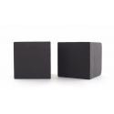 Mousse Cube Noir 15 cm