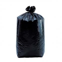 HOMS - Sac poubelle 160L noir H110 - par 100