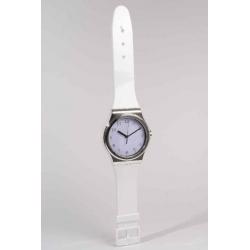 Horloge en plastique Montre D21 H90 Blanc