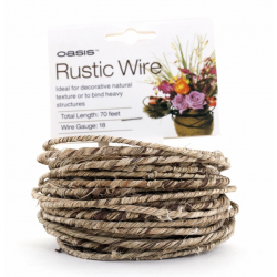 Rustic Wire Naturel 1.2mmx21m