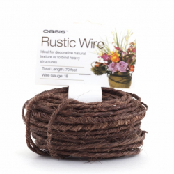 Rustic Wire Marron 1.2mmx21 m
