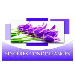 Carte Voeux News Tendresse par 10 Sincères Condoléances