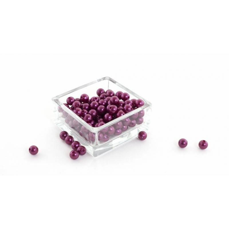 Perles 10 mm Rouge PAr 120