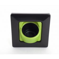 Clip'Pot 1 plante Noir-Vert