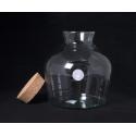 TERRA - Vase Jarre Terrarium + Bouchon D24 x H25 cm
