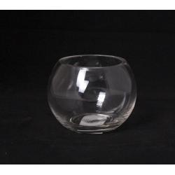 Vase Verre Boule D8/11 x H8.5 cm Coupe Froid