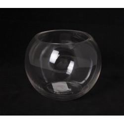 ANA - Vase Verre Boule D11.5/15 x H12 cm Coupe Froid