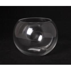 ANA - Vase Verre Boule D13/18 x H14 cm Coupe Froid