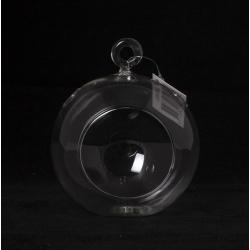BALL - Vase Verre Boule à Suspendre D10.5 x H8 cm
