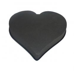 Coeur Mousse Eychenne Noire 50cm par 2