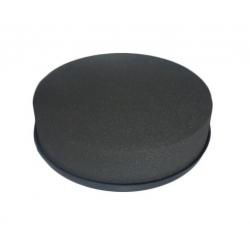 Coussin Rond Mousse Eychenne Noire 28 cm par 2