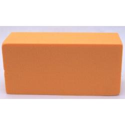 Brique Mousse 23x11x8 cm Mandarine par 4