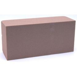 Brique Mousse 23x11x8 cm Chocolat par 4