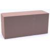 BRIQUE - Mousse Rainbow Chocolat 23 x 11 x 8 cm par 4