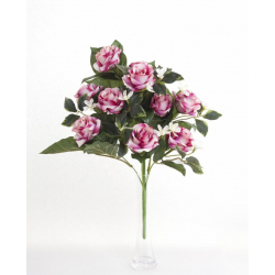 Bouquet Vertical Roses Beauty 10 têtes H45cm