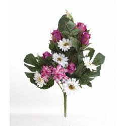 Bouquet Vertical Gerbera Rose Beauty H45cm