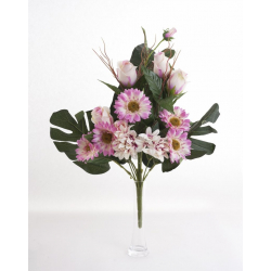 Bouquet Vertical Gerbera Rose Rose H45cm