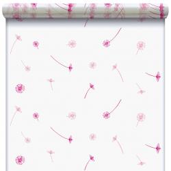FLYING - Cello Fantaisie Fleurs 40µ 0.80x120m Rose