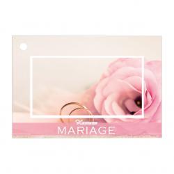 Carte Jeso Brillant Gold X par 10 Heureux Mariage