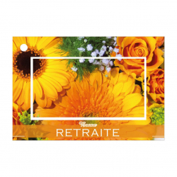 Carte Jeo Brillant Gold 9 par 10 Blanc
