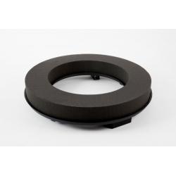 Couronne Mousse Eychenne Noire 60cm par 2