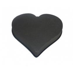 Coeur Mousse Eychenne Noire 28cm par 2