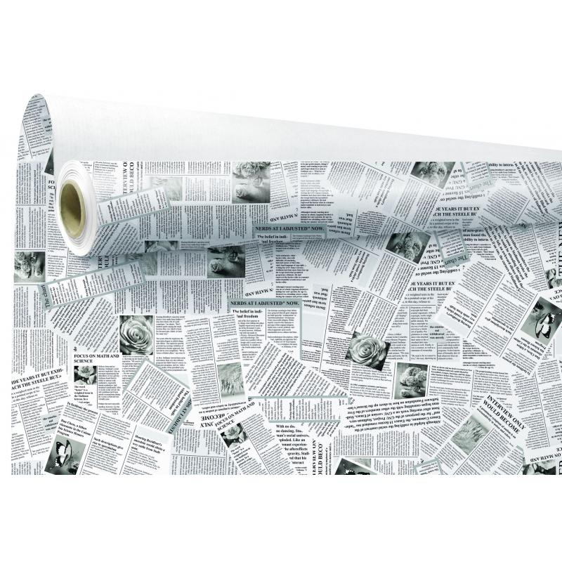 Papier Kraft Blanc News 80cm x 40 m