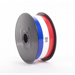 Ruban Tricolore 50mm/ 50M