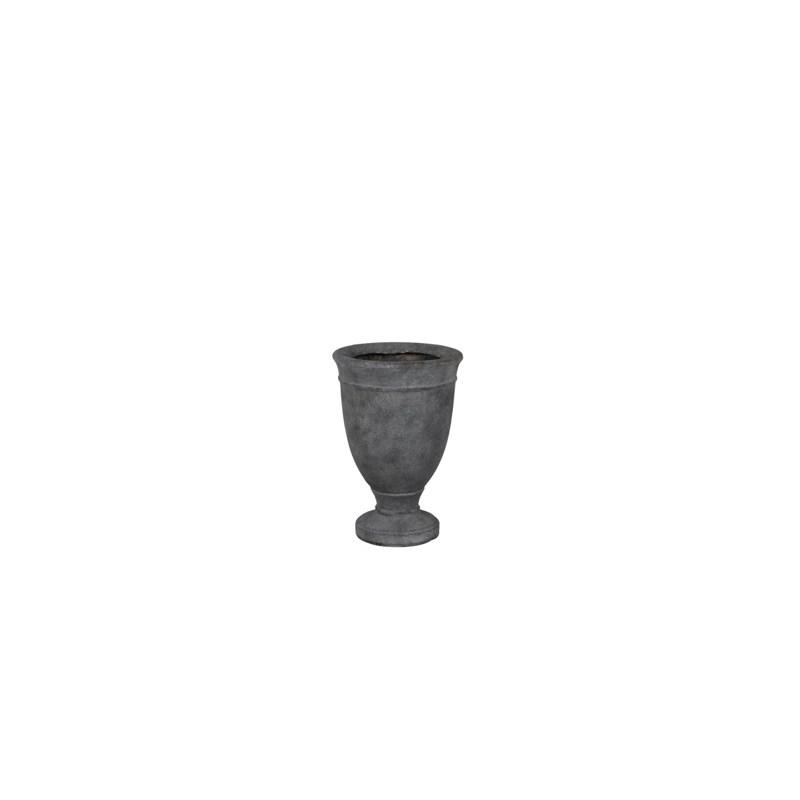 """Vase Médicis d32 h47 cm """"Sophia"""" Gris"""