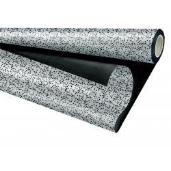 VOLGA - Opaline Duo Noir / Argent 0.8 x 25 m