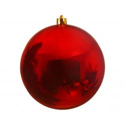 Boule en plastique Rouge 200mm